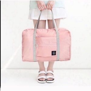 🔴ONE LEFT🔴 BLUSH PINK PACKABLE TRAVEL BAG